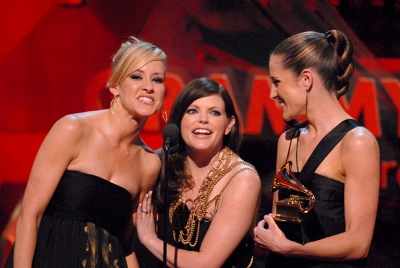Accepting Grammy for 2007 best country album